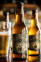 Cerveja Poison Raw Lager - Long Neck