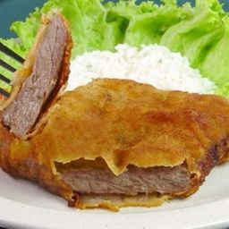 Carne Bovina Empanada - Contrafilé