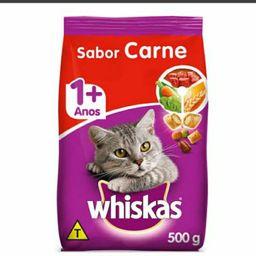 Whiskas Para Gato Sabor Carne 500g