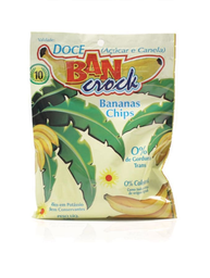 Banana chips doce