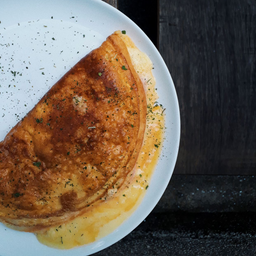 Omelete com Bacon