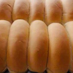 6 Pão Hot Dog