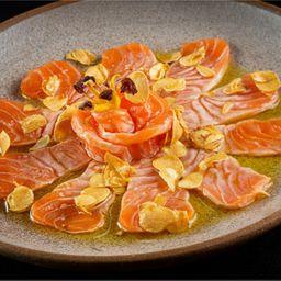 Sashimi - Uzukuri de Salmão
