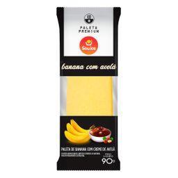 Paleta de Banana com Avelã
