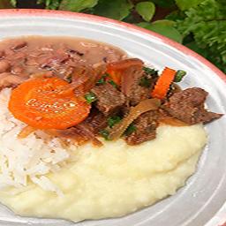 Carne Cozida com Cenoura