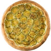 Pizza de Abobrinha (c/ Cream Cheese)
