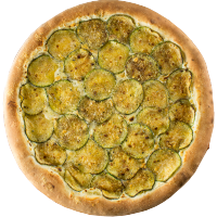 Pizza de Abobrinha (c/ catupiry)