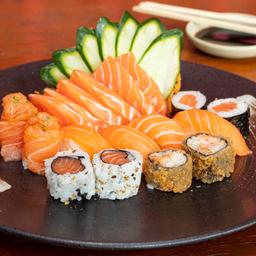 Combinado salmão 1 pessoa - 17 unidades