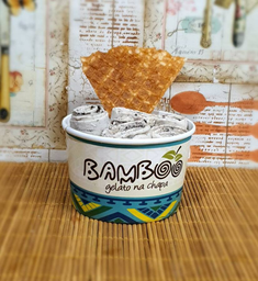 Baunilha com Oreo