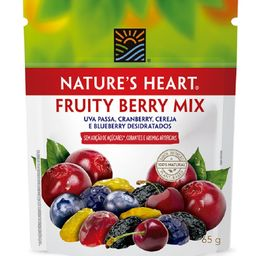 Snack Natures Heart Fruity Berry Mix - 65g