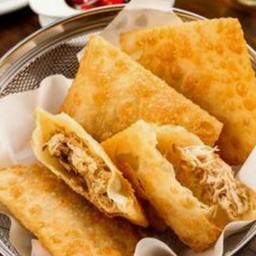 Pastel - Frango, Queijo Coalho, milho