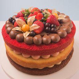 Make a Cake Mix de Frutas