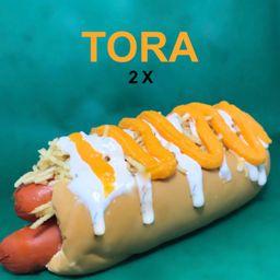 4x Dogs (tora) + Refrigerante (1l)