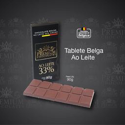 Tablete Belga Ao Leite 33% - 90g