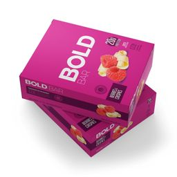 Bold Bar Berries e Crispies - 12 Unidades