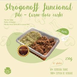 Strogonoff Funcional de Carne (Low Carb)