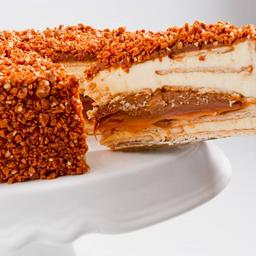 Torta Crocante de Doce de Leite Argentino