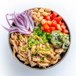 Poke de shimeji / vegetariano / vegano