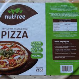 Massa Pizza Vegana Nutfree