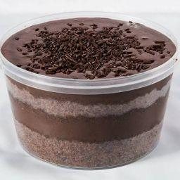 Bolo No Pote de Chocolate