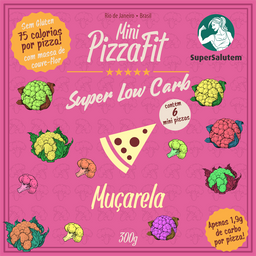 Mini PizzasFit - Muçarela