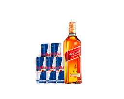Combo Whisky Red Label