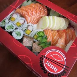Combo sushi e sashimi 32