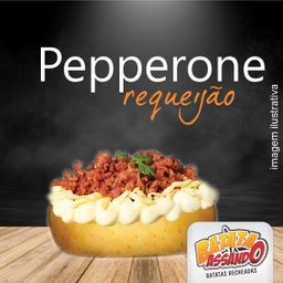 Linguiça Pepperone com Requeijão
