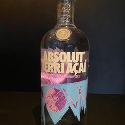 Vodka Absolut Berri Açaí 1L