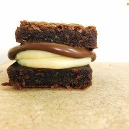 Brownie Recheado de Ninho C/ Nuella