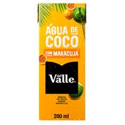 Água de Coco Del Valle Sabor Maracúja - 200ml