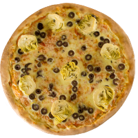Pizza de Alcachofrinha - Broto