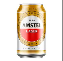Cerveja Amstel - Lata