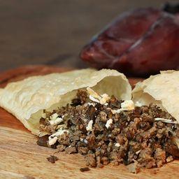Pastel Funghi Mineiro com Carne