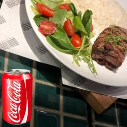 Almoço Executivo + Coca Cola!