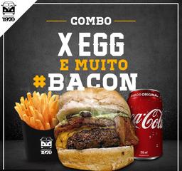 Combo 5 - X-Egg com Batata-Frita McCain SureCrisp