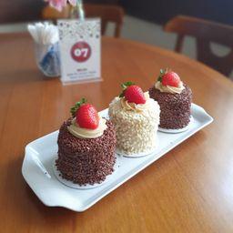 Mini Bolo de Brigadeiro Belga Chocolate
