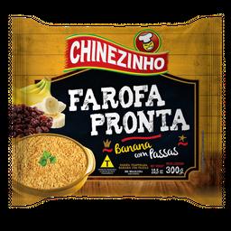 Farofa Chinezinho Banana com Passas