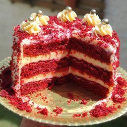 Mr. Torta Red Velvet - Fatia