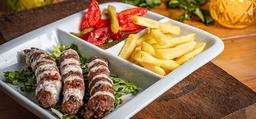 Kebab Kafta no Prato