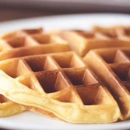 Waffle Salgado com Recheio