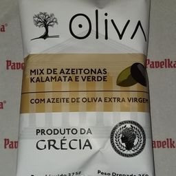 Mix de Azeitonas Kalamata e Verde