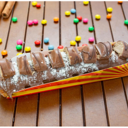 Premium super nutella com deliciosos kinder buenno
