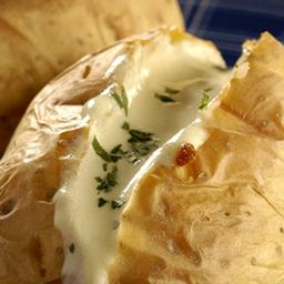 Batata Inglesa aos quatro queijos