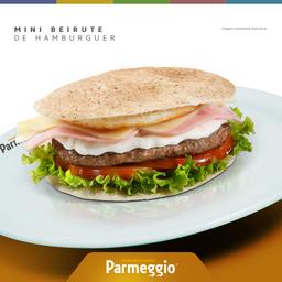 Mini Beirute de Hambúrguer + 1 Refrigerante - 350ml