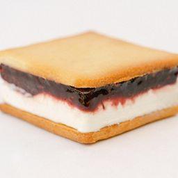 Ice Cream Sandwich de Frutas Vermelhas