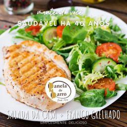 Salada da Casa e Frango Grelhado