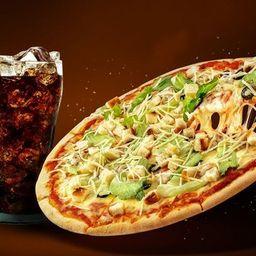 Pizza 35 Cm Tradicional + Refri 1,5l