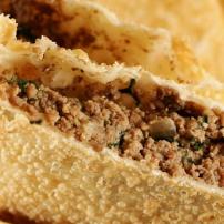 Pastel - Carne, Queijo Coalho, Azeitona