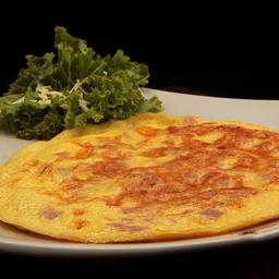 2 Omeletes com Queijo e Presunto